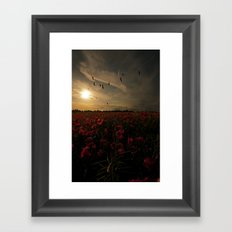 Field of memories  Framed Art Print