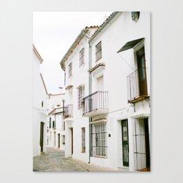 El Pueblo Blanco Canvas Print