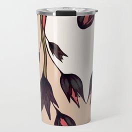 Black Tulips Travel Mug