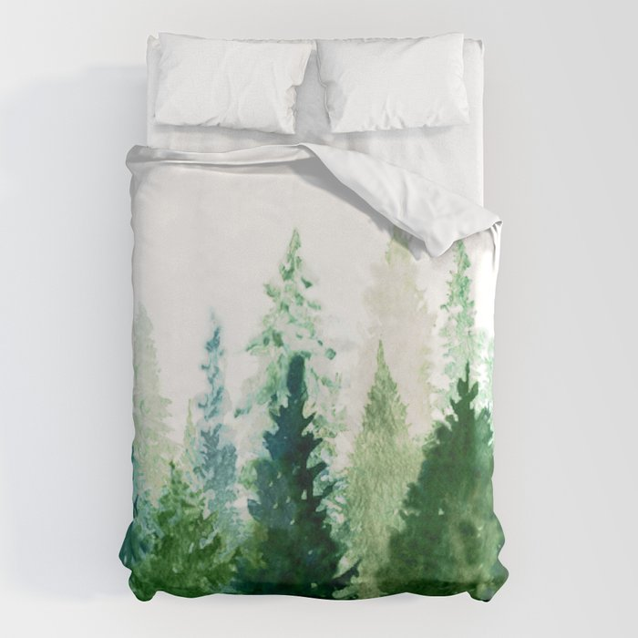 Pine Trees 2 Bettbezug