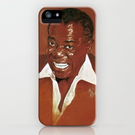Louis Armstrong iPhone Case