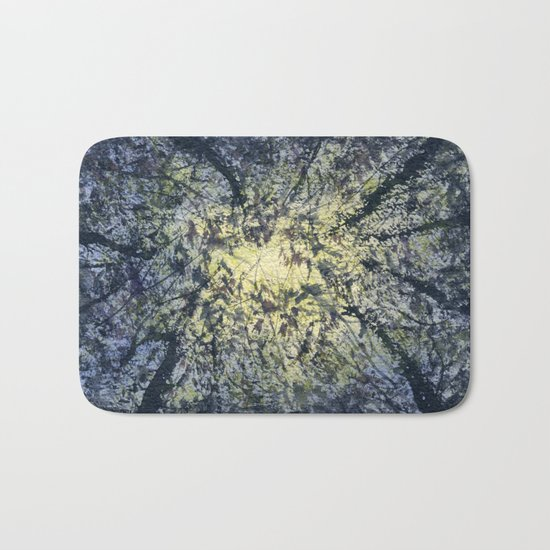 Looking Up Bath Mat