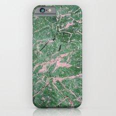 Green Marble #society6 #decor #lifestyle #tech iPhone 6 Slim Case