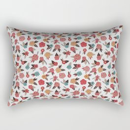 Pop Flower Belt Rectangular Pillow