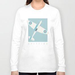 Spitfire WWII fighter aircraft - Sky Long Sleeve T-shirt