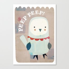 whats that peeper? Canvas Print