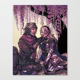 ninja boyfriend Canvas Print