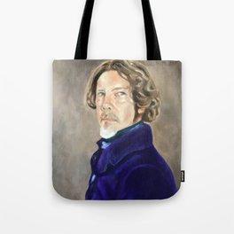 Self Portrait as Delacroix Tote Bag