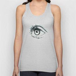 Eye Unisex Tank Top