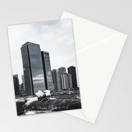 Chicago Lake Michigan View Stationery Cards