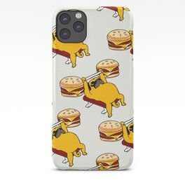 Double Cheeseburger Monday iPhone Case