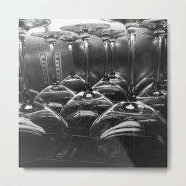 Glassware Metal Print