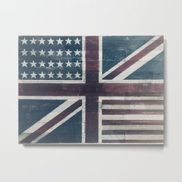 United British - American Metal Print