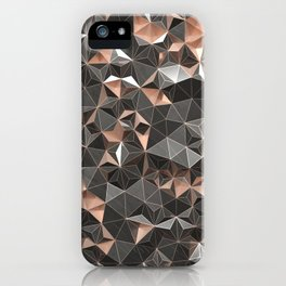 triangle noise iPhone Case