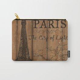 Vintage Travel Poster Paris 2 Carry-All Pouch