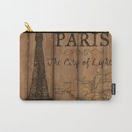 Vintage Travel Poster Paris 2 Carry-All Pouch
