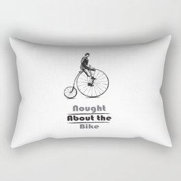 Nought About the Bike Rectangular Pillow