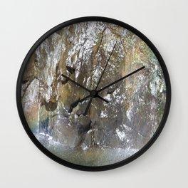 Rainbow Waters Wall Clock