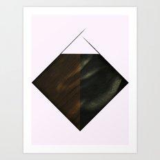 Nebula Silence Art Print