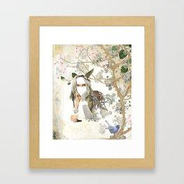 Melody of a Fallen Tree Framed Art Print