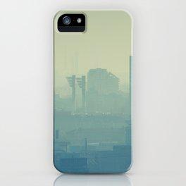 Hazy Bratislava iPhone Case