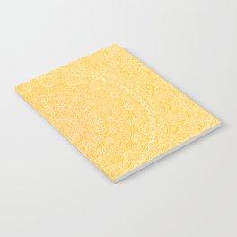 The Most Detailed Intricate Mandala (Mustard Yellow) Maze Zentangle Hand Drawn Popular Trending Notebook