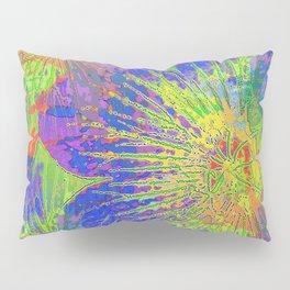 Psychedelic Geraniums Pillow Sham