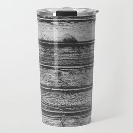 Weathered Wood Wall Travel Mug