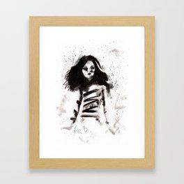 Soldados muertos (sketch version) Framed Art Print