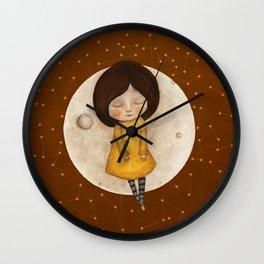Moon Song 2 Wall Clock