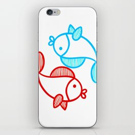 Best Friends Forever - Yin n Yang iPhone Skin