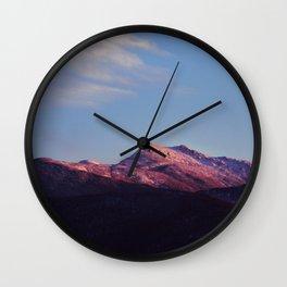 Mount Mansfield Wall Clock