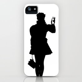 White Riot iPhone Case