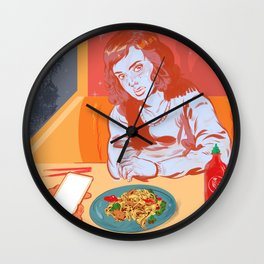 DINER DASH Wall Clock