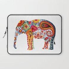 WATERCOLOR ELEPHANT Laptop Sleeve