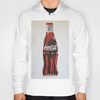 coca cola Hoodies featuring Coca-Cola by Marta Barguno Krieg
