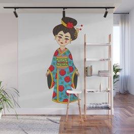 Geisha Japan girl Wall Mural
