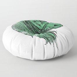 Green Horse Floor Pillow