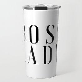 BOSS LADY Printable Poster Office Art Office Decor Girls Room Art Inspirational Wall Art Office Prin Travel Mug