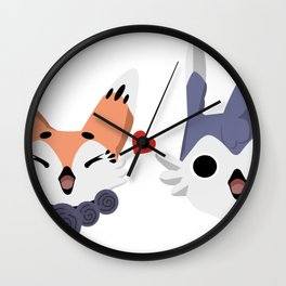 Rian & Gina Wall Clock