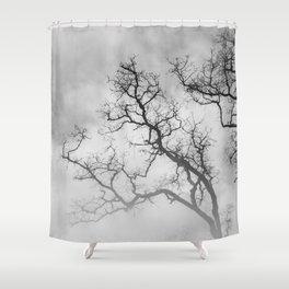 Winter Veins Shower Curtain