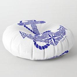 Tribal Anchor Floor Pillow