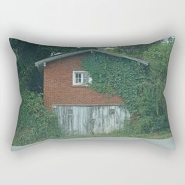 House on the Road Rectangular Pillow