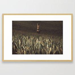 Right Direction Framed Art Print