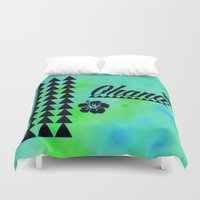 ohana Duvet Covers featuring My Ohana by Lonica Photography & Poly Designs