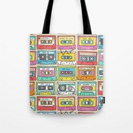 Nostalgia Audio Music Mix Cassette Tape Tote Bag