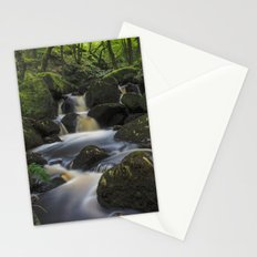 River At Padley Gorge Stationery Cards