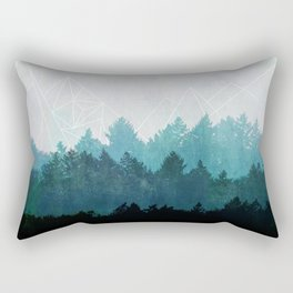 Woods Abstract  Rectangular Pillow