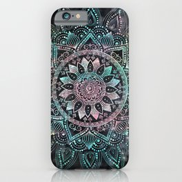 Magical Holographic Mandala Glitter Sparkles Design iPhone Case