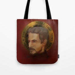 Saint Stark Tote Bag